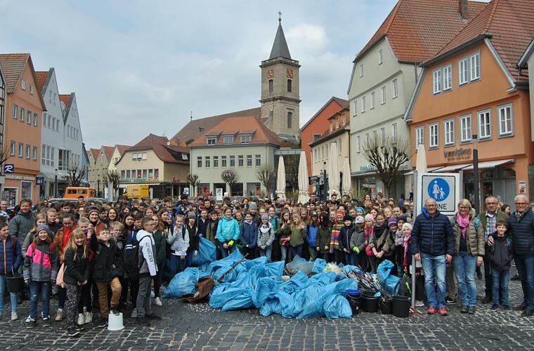 Projekt - Bleib Sauber Bad Neustadt